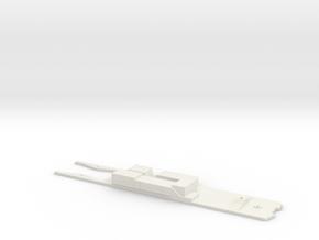 CTA 1-50 Series Frame, Bowser Drive in White Natural Versatile Plastic