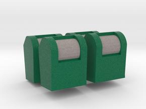 [4st] Ondergrondse Container 1:87 (H0) in Natural Full Color Sandstone: 1:87 - HO