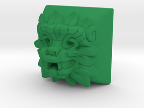 Quetzalcoatl (Cherry MX DSA) in Green Processed Versatile Plastic