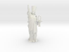 Nefertiti Liberty pendant in White Natural Versatile Plastic