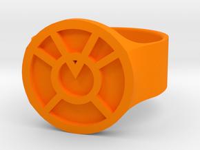 Orange lantern (US 10) in Orange Strong & Flexible Polished