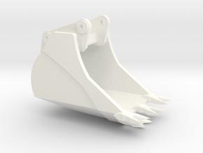 40 Ton Ripper Bucket in White Processed Versatile Plastic