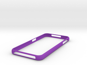 Galaxy S7 Bumper  Samsung in Purple Strong & Flexible Polished