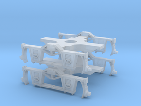 Truck #001 - 2 Pack - N Scale - 1880s in Smoothest Fine Detail Plastic