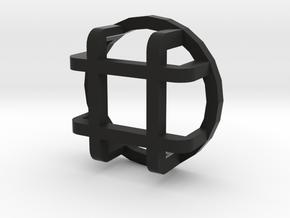 Rear light protector big D90 D110 Gelande 1:10 in Black Natural Versatile Plastic