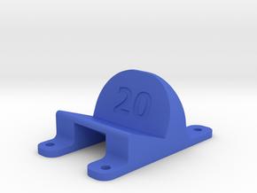 LT210 - 20° Action Cam Mount in Blue Processed Versatile Plastic