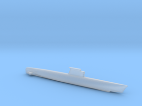 Zulu-class submarine, Full Hull, 1/1800 in Smooth Fine Detail Plastic