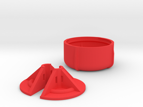Aomway Antenna Protector Cap V3 in Red Processed Versatile Plastic