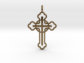 The Ringed Cross in Natural Bronze