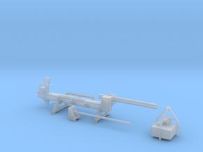 H0 1:87 Horizontaler Holzspalter in Smooth Fine Detail Plastic