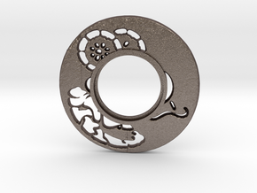 MHS compatible Tsuba 6 in Stainless Steel