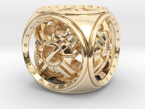 Astro D6 in 14K Yellow Gold