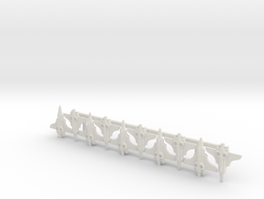 Frontier Fighter 10 Sprue in White Natural Versatile Plastic