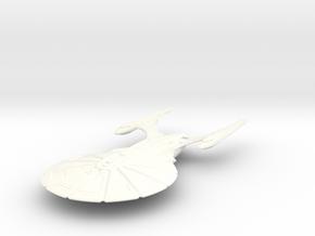 Atlanta Class BattleCruiser in White Processed Versatile Plastic