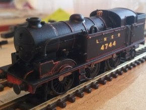 LNER N2 Body Shell in Smooth Fine Detail Plastic