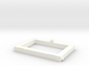 Little Library Part# 3: Door in White Processed Versatile Plastic