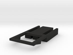 flyHolder frame v1 in Black Acrylic