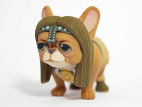 Frenchie The Barbarian  in Full Color Sandstone