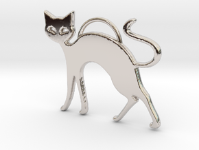 Slinky Cat in Platinum