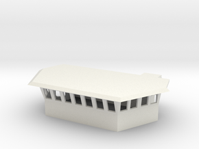 1/96 Scale Famous/Bear Class Bridge in White Natural Versatile Plastic