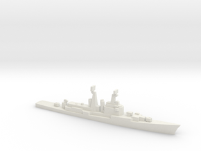 Mitscher class DL, 1974, 1/1800 in White Natural Versatile Plastic