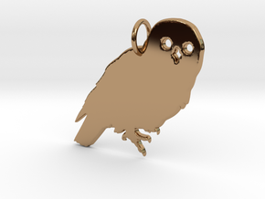 Owl in Polished Brass