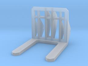 Front Loader Forks 1-87 HO Scale in Smooth Fine Detail Plastic