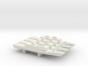Comandanti-class OPV x 4, 1/1800 in White Natural Versatile Plastic