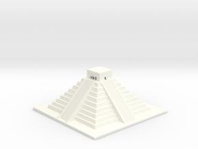 El Castillo - Chichen Itza 1-500 in White Processed Versatile Plastic