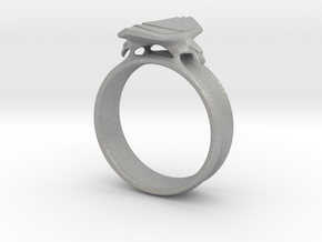 Eagle Ring Size 9 in Aluminum