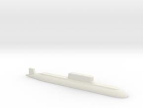 032 submarine, 1/2400 in White Natural Versatile Plastic