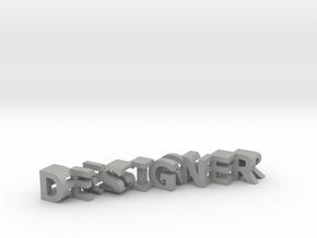 FontFlip DESIGNER-ENGINEER in Aluminum