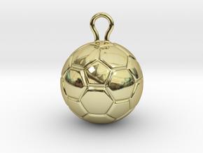 Soccer Ball 2016 in 18k Gold Plated Brass