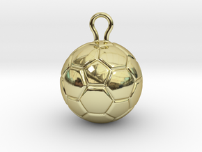 Soccer Ball 2016 in 18k Gold Plated Brass