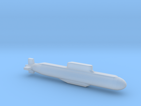 032 submarine, Full Hull, 1/2400 in Smooth Fine Detail Plastic