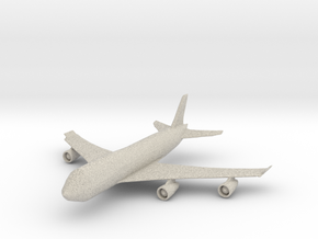 Passenger Plane in Natural Sandstone