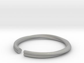 Mobius Hearts Ring in Aluminum