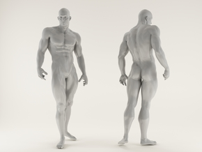 Strong Man scale 1/24 2016020 in Frosted Ultra Detail