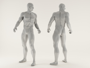 Strong Man scale 1/24 2016027 in Smooth Fine Detail Plastic
