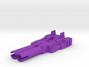 Transformers Cw Brawl Tank Cannons in Purple Processed Versatile Plastic
