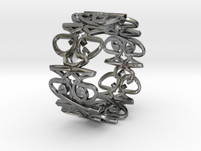 HAWJAN RING in Fine Detail Polished Silver