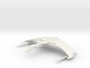 Valdore Type Warbird in White Natural Versatile Plastic