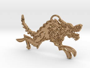 Hati in Polished Brass