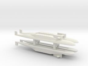 PLA[N] 094 SSBN x 4, 1/1800 in White Natural Versatile Plastic