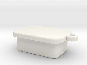 Fitbit Rubber Plug2 in White Natural Versatile Plastic