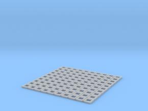 Custom size (1:38) GunportFrames Hollow in Smooth Fine Detail Plastic