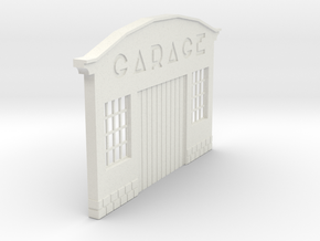 Z-1-43-garage-1 in White Natural Versatile Plastic