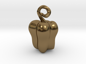 Bell Pepper in Polished Bronze