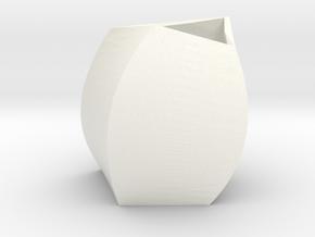 Mug 0.5.1 in White Processed Versatile Plastic