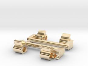 GShock GA-1000 NATO adapter 24mm (metal) in 14k Gold Plated Brass